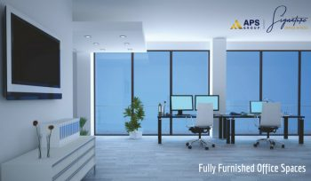 fully furnished office spaces in zirakpur